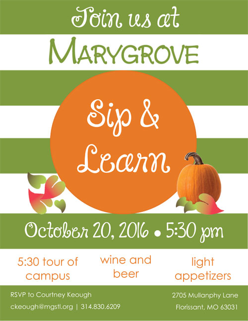 Marygrove Sip & Learn