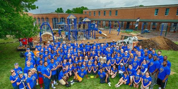 St. Louis Rams Marygrove Playground Build