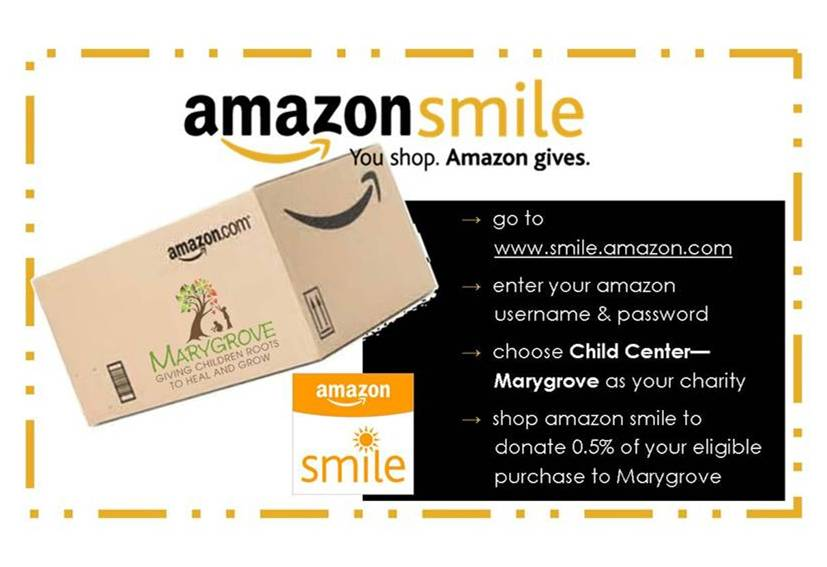 Amazon Smile Flyer
