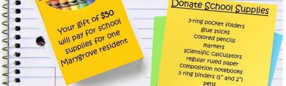 Be A Marygrove School Day Buddy!