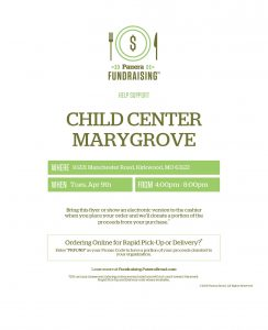 Marygrove Fundraiser at Panera Bread @ Panera Bread